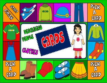 Clothes board game