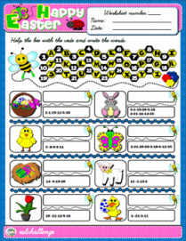 Easter - Worksheet
