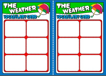 the weather - board game