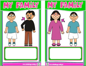 Family matching cards