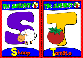 English teaching resources + the alphabet flashcards