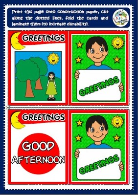 Greetings - memory cards game