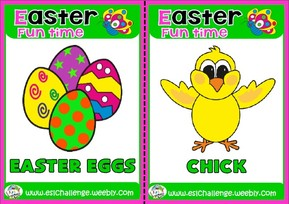 #Easter flashcards