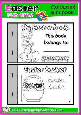 #Easter colouring book