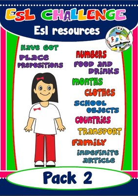 PACK 2 - ESL RESOURCES