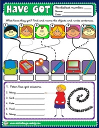 Have got - worksheets