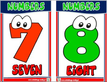 Cardinal numbers ppt flashcards