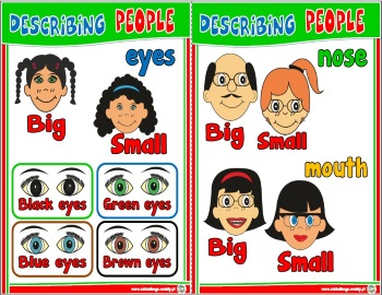 Describing people flashcards