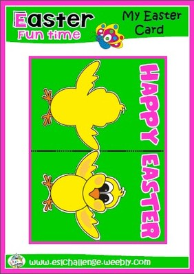 #Easter card