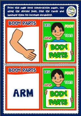body - memory cards game