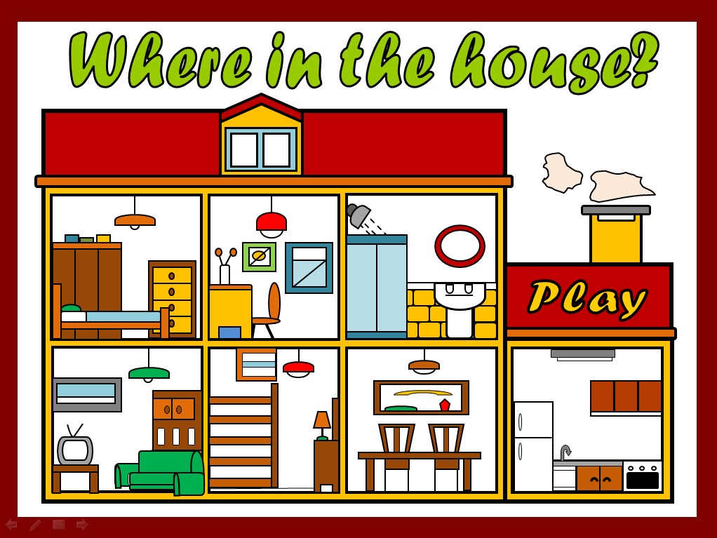PARTS OF THE HOUSE - PPT GAME - AVAILABLE ON OLDIES BUT GOODIES1