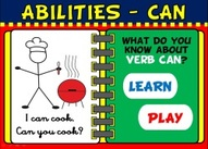 Expressing abilities - can powerpoint game
