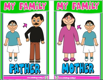 Family flashcards