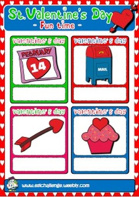 Valentine's games + matching cards