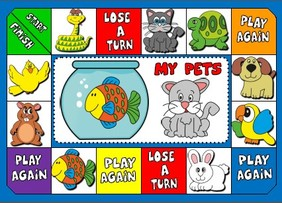 pets - board game