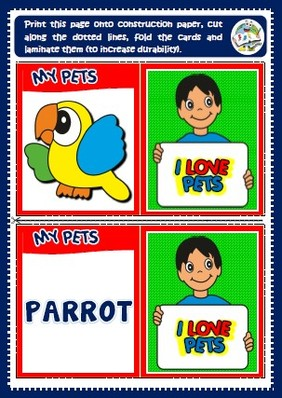 pets - memory cards game