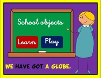 School objects ppt game