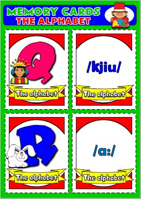 #Alphabet #flashcards